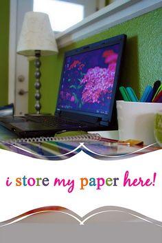 Going paperless... scan  toss!