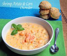 Shrimp, Potato & Corn Chowder