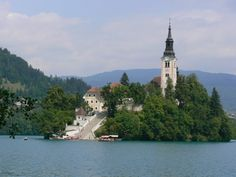 Island of Bled in Slovenia6