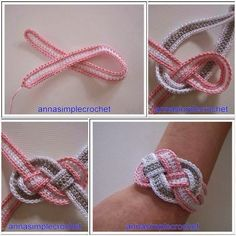 Tutorial #33: Pulsera Victoriana Tejida a Crochet | CTejidas [Crochet y Dos Agujas]