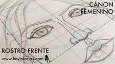 Aprende a dibujar el rostro femenino con el canon de proporciones   http://blgs.co/gIywTJ