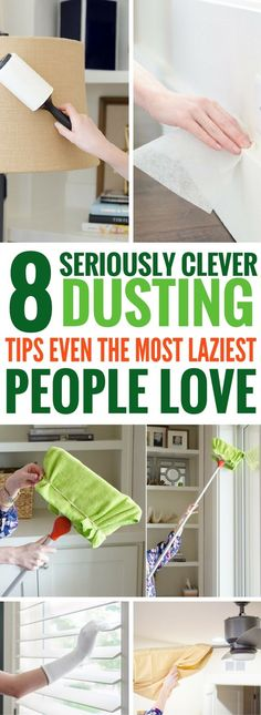 Dusting Hacks And Cleaning Tips For The Home - I'm so glad I found these cleaning hacks! Easy, quick and it actually WORKS!