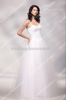 New Arrival Custom Made Tulle Strapless Dropped Bodice Slim Long Ball Gown Simple Chic Prom Dresses
