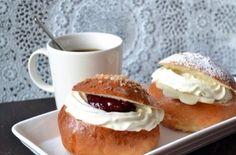 Laskiaispulla | Ossin Pulla Oy Finland Food, Feb 2017, Pudding, Cakes, Chocolate, Baking, Desserts, Bread Making, Patisserie