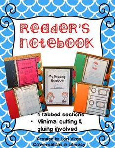 MY INTERACTIVE READER'S NOTEBOOK - TeachersPayTeachers.com