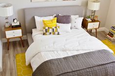 LiveLaughDecorate: A City Girl's Retreat - The Master Bedroom