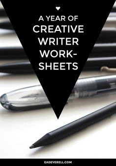 This year's writing worksheets are aimed at exploring what it means to be a writer > http://eadeverell.com/creative-writing-worksheets/?utm_content=buffer3d601&utm_medium=social&utm_source=pinterest.com&utm_campaign=buffer #writing #nanowrimo