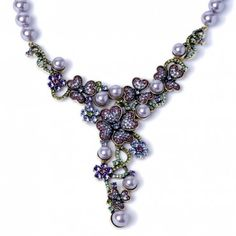 """Fleur Extraordinaire"" Necklace - Heidi Exclusive - What's New 