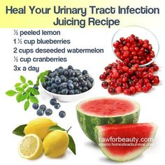 Heal your urinary tract infection juicing recipe. For more amazing reciepes and idea's visit Raw For Beauty @ http://rawforbeauty.com/blog/category/recipe