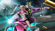 Harley And Joker Wallpaper Joker And Harley, Harley Quinn, Daddys Lil Monster, Joker Wallpapers, Cool Wallpapers For Phones, Mobile Wallpaper, Background Images, The Past, Artwork