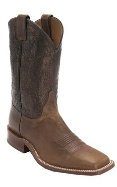 Justin Bent Rail Men's Tan Maddog w/Cobre Metallic Top Double Welt Square Toe Western Boots Western Boots For Men, Western Wear, Cowboy Up, Cowboy Boots, Mens Square Toe Boots, Sock Shoes, Shoe Boots, Men's Boots, Country Boots