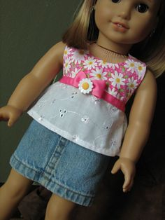 18 Doll clothes  fits American Girl  Mini by MadiGraceDesigns, $24.00