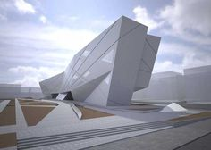 University of Seville Library, Seville, Spain by Zaha Hadid