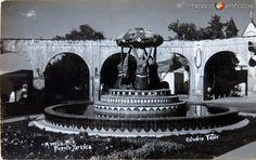Fotos de Morelia, Michoacán, México: Fuente Tarasca  Hacia 1939