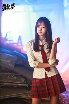 Kim Sohyun/Drama Let's Fight Ghost Moda Fashion, Fashion Models, Korean Beauty, Asian Beauty, Beautiful Asian Women, Beautiful People, Sweet Girls, Cute Girls, Asian Woman