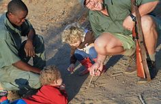 Family friendly safari camp #kidsonsafari #southafrica #safari