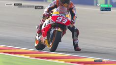 Aragon GP FP1 - Marc Marquez's Smoking Boot
