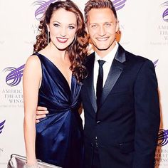 Laura and Nathan Johnson Laura Osnes, Love Her, Broadway, Formal Dresses, Clothing, Inspiration, Fashion, Dresses For Formal, Outfits
