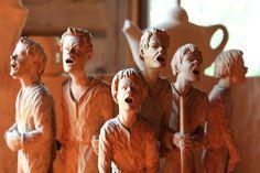 Santorini, Wood Art, Sculpture, Google, Painting, Wooden Art, Painting Art, Sculptures, Paintings
