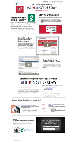 Greater Giving Resources for #GivingTuesday http://go.greatergiving.com/givingtuesday