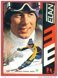 ingemar stenmark Alpine Skiing, Snow Skiing, Winter Games, Winter Fun, Ski And Snowboard, Snowboarding, Elan Ski, Vintage Ski Posters, Ski Equipment