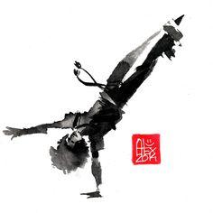 Illustration : Capoeira – 694