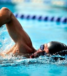 Swimming without shoulder pain is very important! Good technique here.