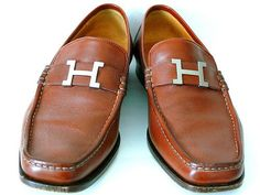 Hermes loafers.