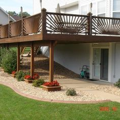 Under The Deck Landscaping Ideas, Pictures, Remodel and Decor