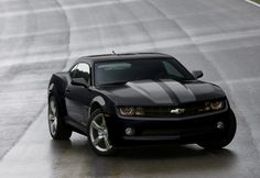 2012 Chevy Camero. With Gray Stripes. Much Love.