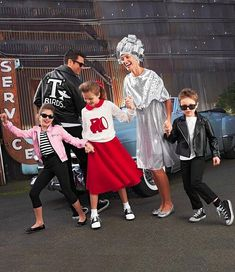 1950's and Grease Halloween Costumes