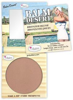 NEW The Balm Bronzer Blusher, Balm Desert