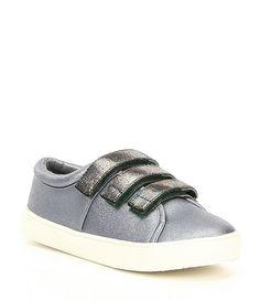 362a82c7ad Kenneth Cole New York Girl s Kam Glitter Metallic Strap Sneaker New York  Girls