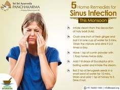 5 Home Remedies For Sinus Infection – Ayurvedic Treatments