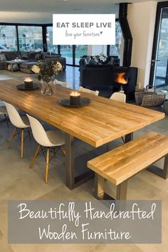 Open Plan Kitchen Living Room, New Kitchen, Soap Kitchen, Kitchen Cabinets, Diy Dining Room Table, Dining Area, Dining Tables, Kitchen Interior, Kitchen Decor