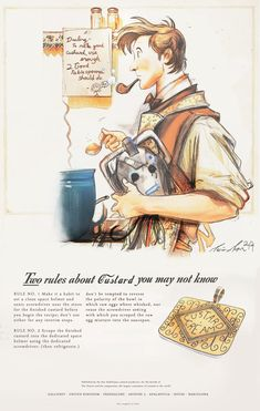 How To Make Good Custard - (a 1940's ad) by The-Longfall-of-1979 on DeviantArt