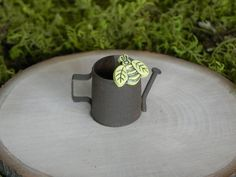 ONE Fairy Garden Miniature Watering Can with by TheLittleHedgerow