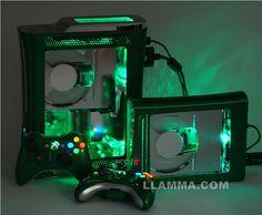 A Green Xbox 360