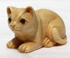 netsuke cats - Google Search