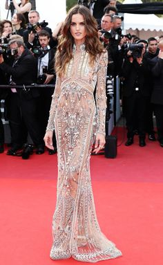 Best Dressed Stars on Cannes Red Carpet 2017 - Izabel Goulart