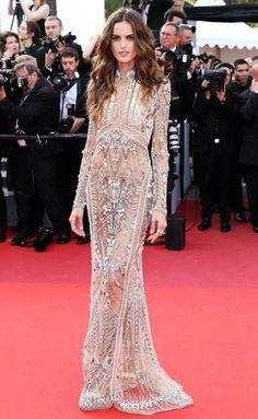 Best Dressed Stars on Cannes Red Carpet 2017 - Izabel Goulart