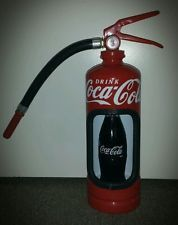 Coca Cola fire extinguisher man cave FREE POSTAGE