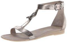 #sale Franco Sarto Women's Grafite Dress Sandal,Silver,7 M US
