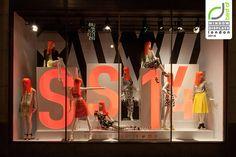 Miss Selfridge windows 2014 Spring, London » Retail Design Blog
