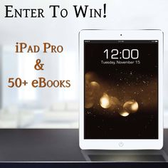 Enter to win an iPad Pro & 50+ Ebooks! #iPadPro & #Ebooks #Giveaway http://blog.ravenpublicity.com/giveaways/enter-to-win-an-ipad-pro-50-ebooks-ipadpro-ebooks-giveaway/?lucky=2418 via @RavenPublicity