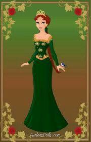 Princess Fiona~Shrek~ by starwriterforthewinn on DeviantArt Fiona Shrek, Princesa Fiona, Princess Zelda, Disney Princess, Disneybound, Disney Characters, Fictional Characters, Aurora Sleeping Beauty, Deviantart