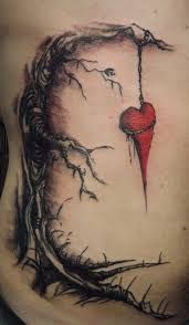 cherry blossom tree tattoo side - Google Search