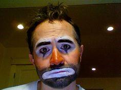 Hobo Clown Makeup #costume