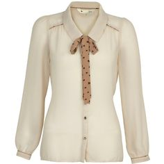 Yumi Pussy-bow blouse and other apparel, accessories and trends. Browse and shop 8 related looks.