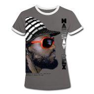 T-Shirts ~ Frauen Kontrast T-Shirt ~ MASSIV REX